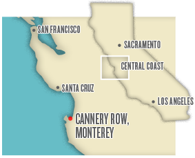 Cannery Row map image
